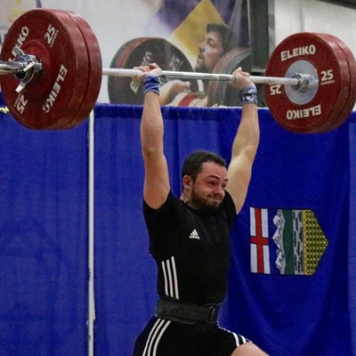 Chris DiGiovanni weightlifting
