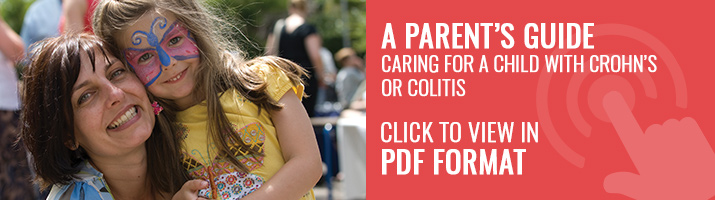 A Parent's Guide. Caring for a child with Crohn's or colitis
