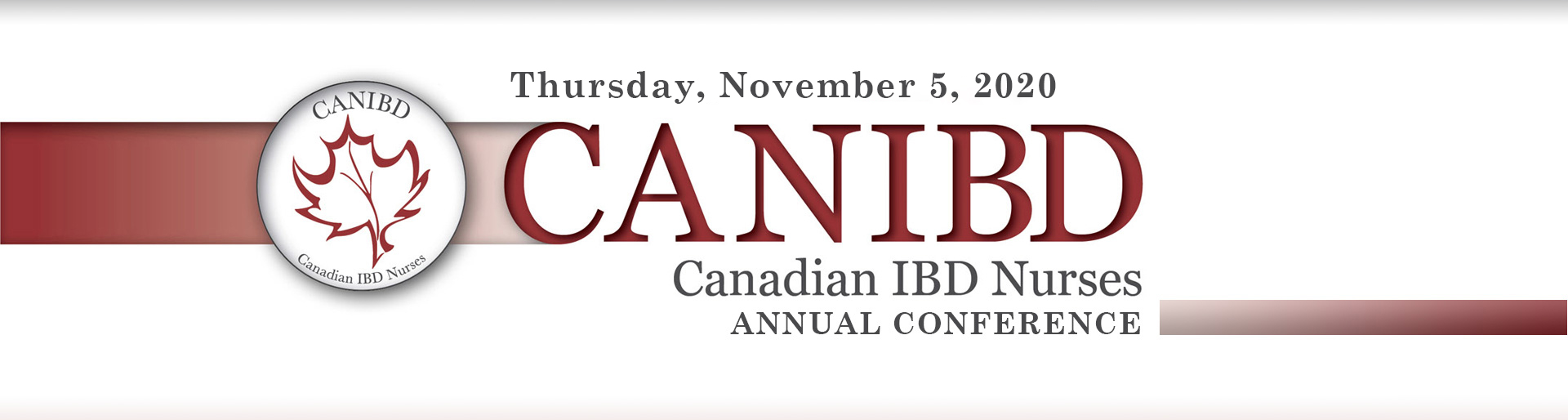 2020 CANIBD Conference banner