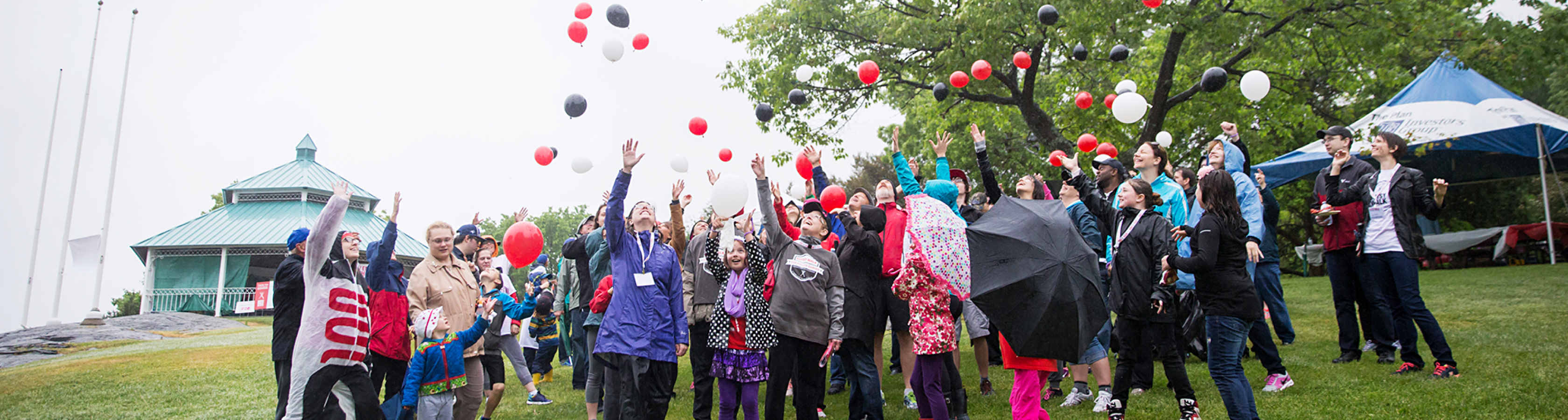 Crohn's and Colitis Canada Gutsy Walk Event Celebration