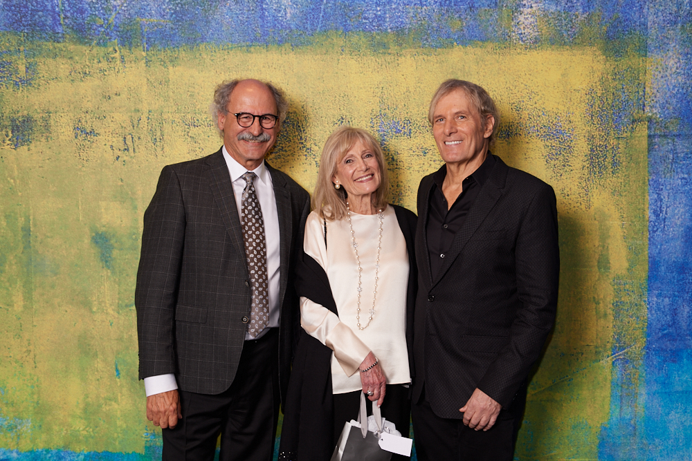 Bernie and Tona Abrams with Michael Bolton