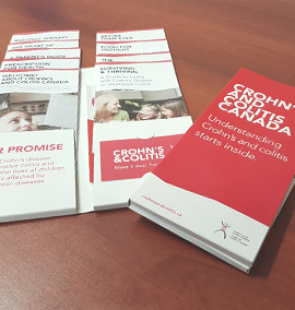 Crohn's and Colitis Canada brochures