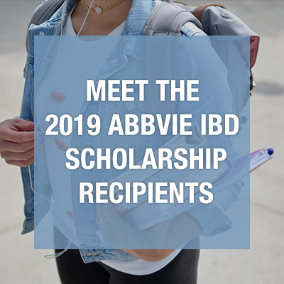 Crohn's and Colitis Canada selects 10 outstanding students to receive the 2019 AbbVie IBD Scholarship
