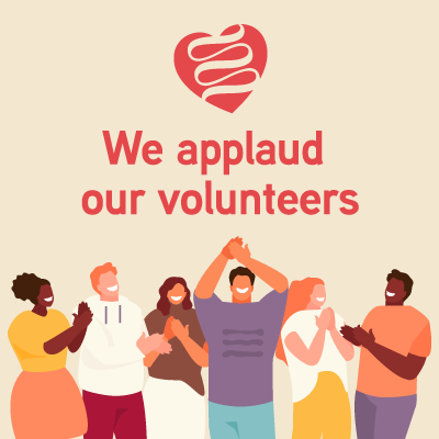 We Thank and Applaud Our Volunteers