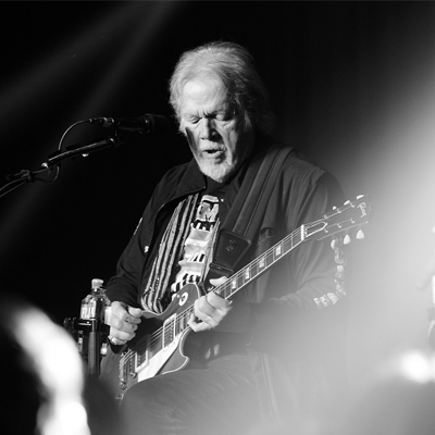 Randy Bachman on stage