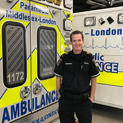 Lifelines: The story of a paramedic living with Crohn's