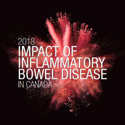 Impact of IBD in Canada report cover