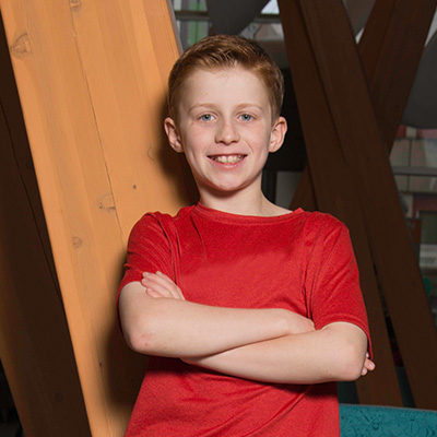 Meet the 2019 Gutsy Walk National Honorary Co-Chair: Logan Huttunen