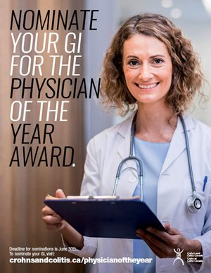 Physician of the Year poster